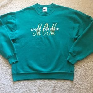 Knox College Mom Embroidered Vintage sweatshirt